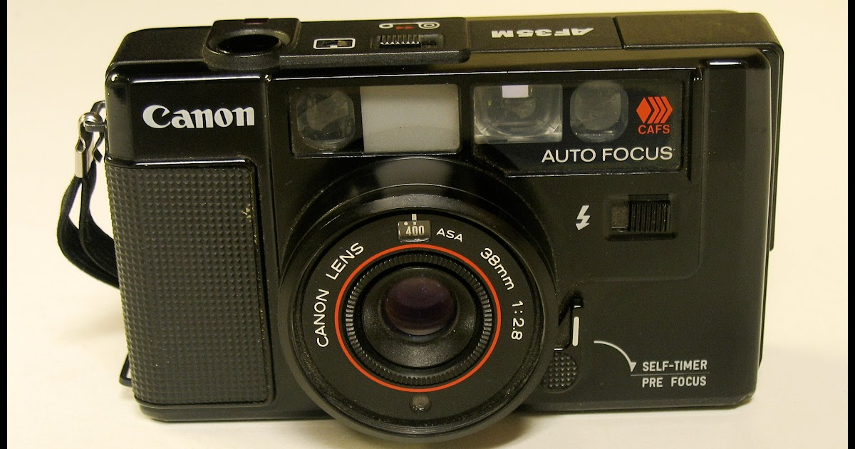 Random Camera Blog: A Canon in A Minor - the AF35M