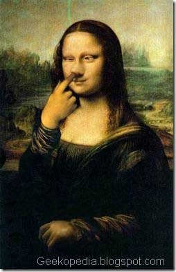 mona-lisa-picking-nose