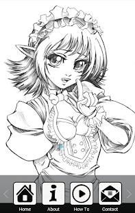 APK App How To Draw Manga for BB, BlackBerry