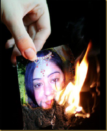 nutan ..burning
