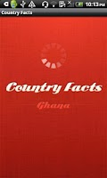 Screenshot of Country Facts Ghana