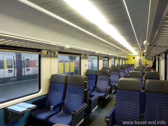 поезд Цюрих - Милан