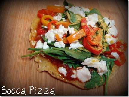 socca pizza