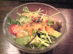 ウッディーズのサラダ
