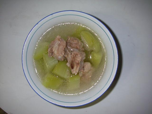 香瓜仔排骨湯