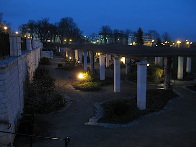 Parc Blossac at Night