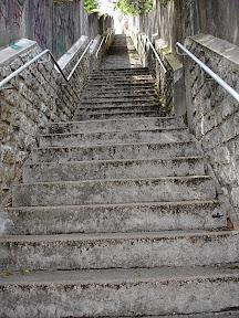 Escalier de la Grotte des Druides