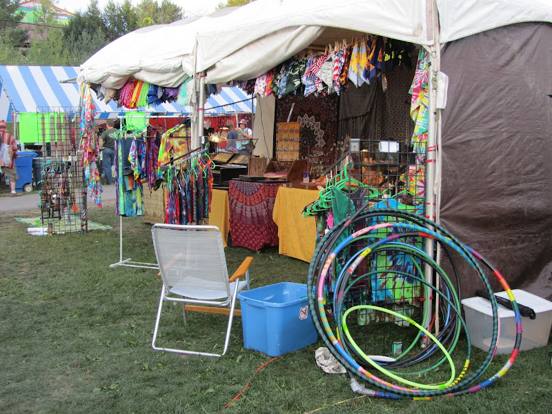 Fringe Jewelry Festival Booth