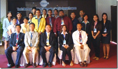 Participants during the 10th SEAFDEC Information Staff Exchange Program (ISEP)