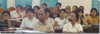 The participants of the strategic planning and review meeting