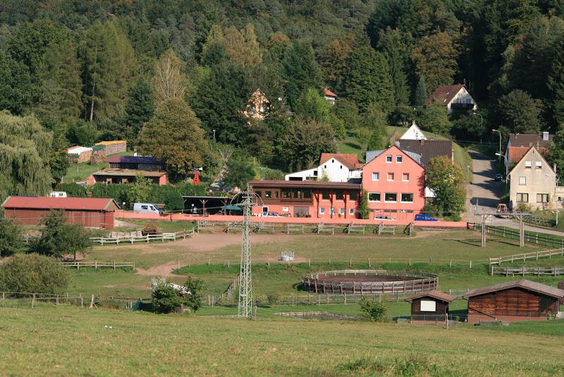 Longhorn Ranch aus der Ferne
