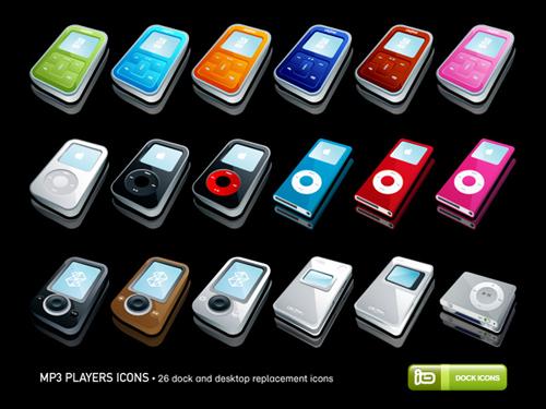 иконки MP3 плееры