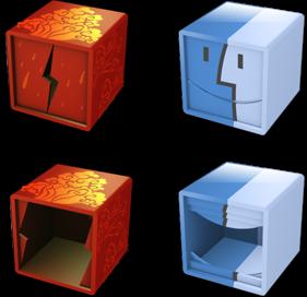 иконки куб