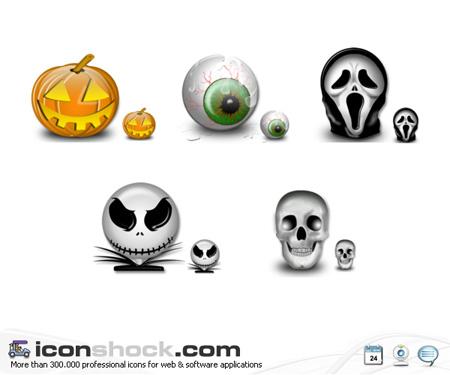 иконки ico для рабочего стола halloween