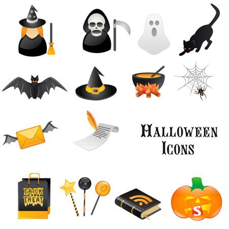 Хэллоуин иконки png