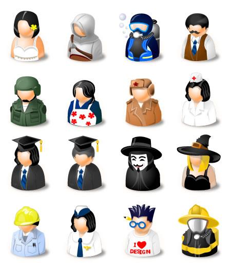 люди иконки аватары