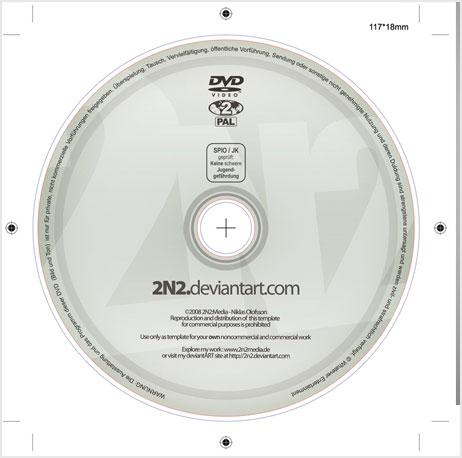 dvd диск psd шаблон