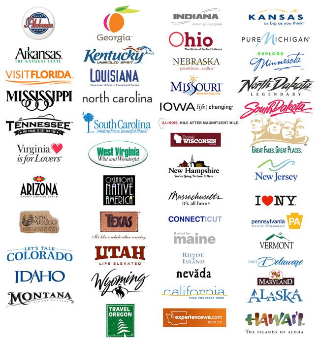 соединенные штаты америки логотипы