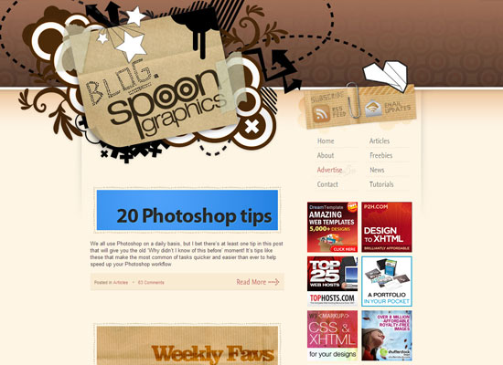 Blog SpoonGraphics