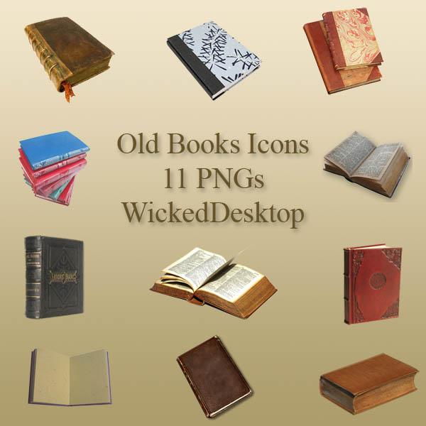 Иконки книги, бумага, журналы, рукописи и свитки :: Дизайн Мания