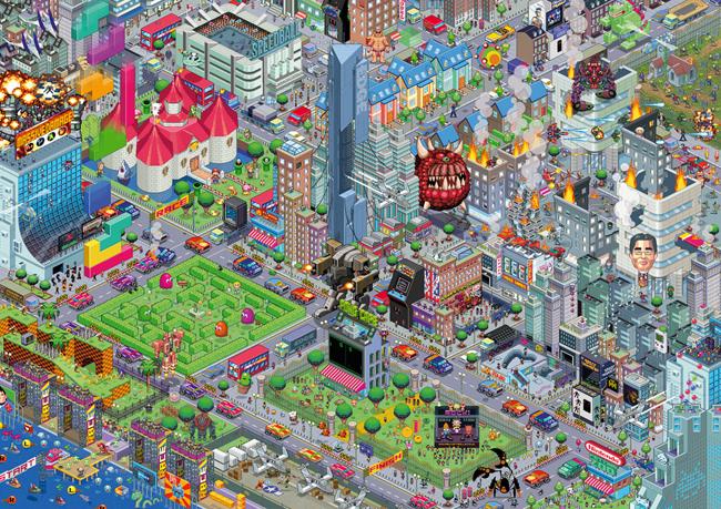 картинки pixel art