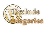 Плагин exclude categories