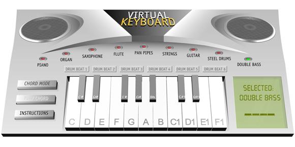музыкальный синтезатор онлайн