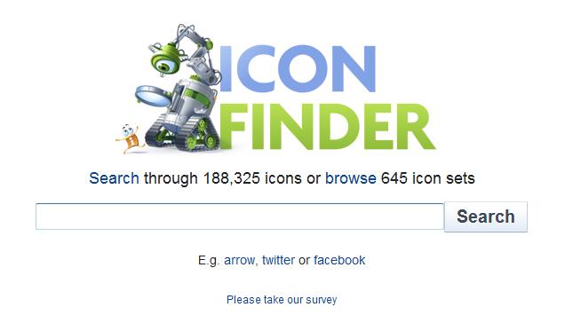 iconfinder поиск иконок в интернете