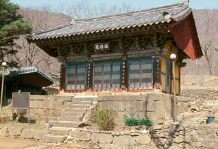 Cheongdo Geungnakjeon Hall of Daejeoksa Temple
