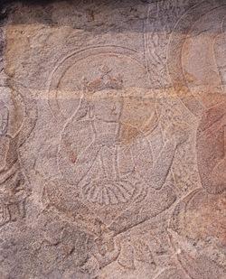 Chilgok Relief of buddha and bodhisattva in Noseokdong, Seongju 02