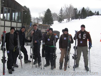 skiing at snow trails1