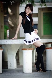 Hwang Mi Hee School Girl Style 1-1