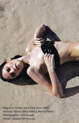 bikini model Danijela Dimitrovska