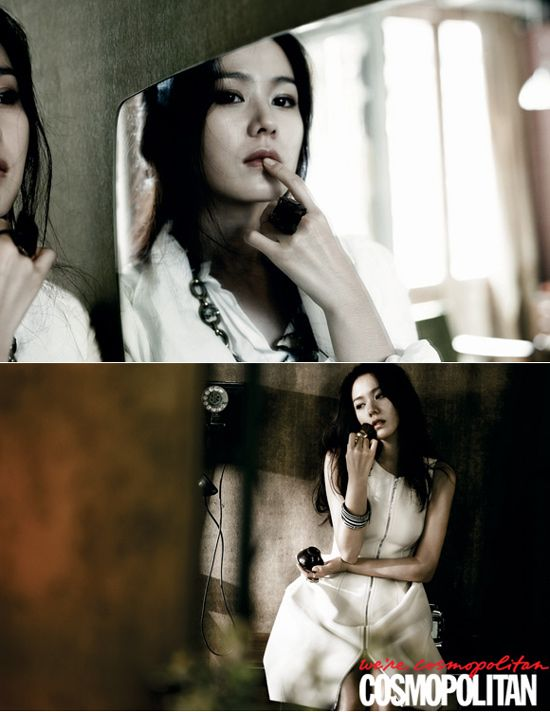 Son Ye Jin and KoSoo photo shoot together