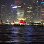 Džonkki Hongkongin yössä