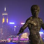Bruce Lee ja Hongkongin saaren hökkeleitä