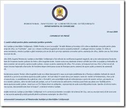 MJLC - nu plateste onorarii avocati din oficiu