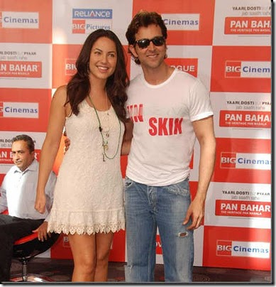 Hrithik Roshan & Barbara Mori at Kites promotional event at R City Mall and IMAX