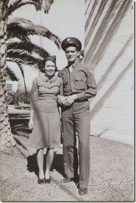 Norma and Frank -Harligen TX WW2