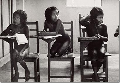 Escola Kayapó, Aldeia Djetuktire, 1991