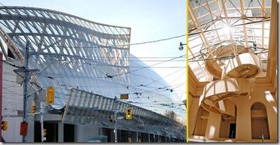 Art Gallery of Ontario. E' il più noto museo di arte antica, moderna e contemporanea di Toronto. Il nuovo aspetto si deve a Frank Gehry
