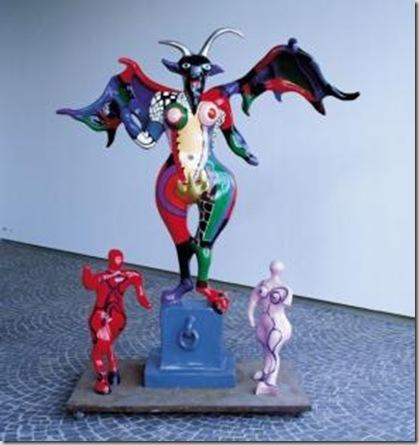 'The Devil' by Niki de Saint Phalle