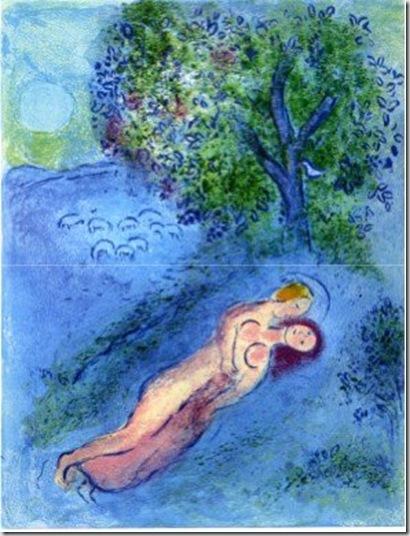 Marc Chagall, Le leçon de Philetas, 1967 © by SIAE 2009