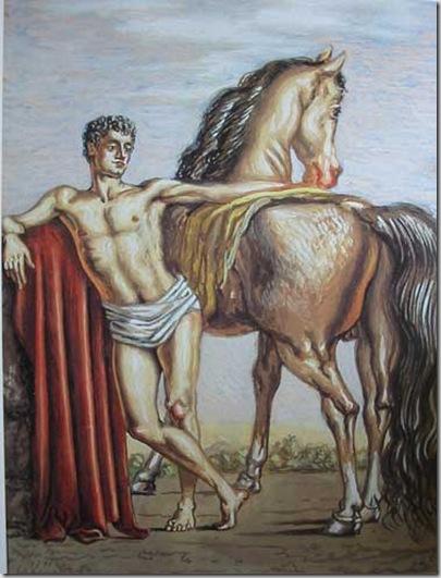 dioscuro-con-cavallo-1936-fondazione-de-chirico