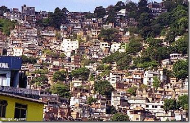 as favelas de Rio
