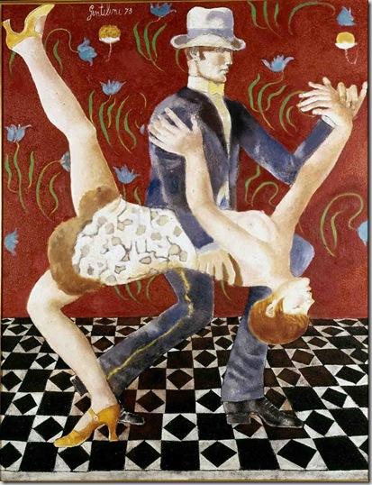 1973 Il tango cm 120x90