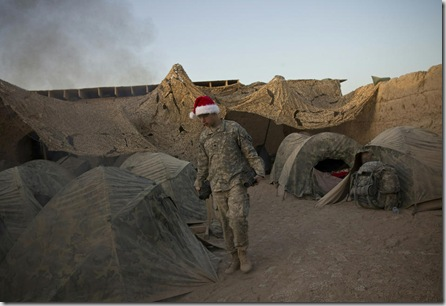 AFGHANISTAN-US-UNREST-CHRISTMAS