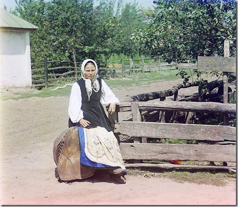 In Little Russia (Ukraine); between 1905 and 1915 Sergei Mikhailovich Prokudin-Gorskii Collection (Library of Congress).