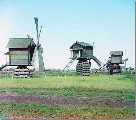 Mills in Ialutorovsk district of Tobolsk Province; 1912 Sergei Mikhailovich Prokudin-Gorskii Collection (Library of Congress).