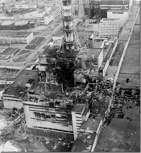 CHERNOBYL DISASTER 1986